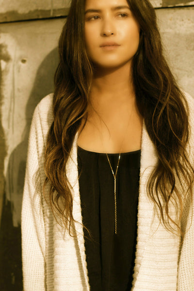 Long Y Necklace