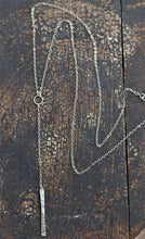 Lariat Bar Necklace - Y Necklace