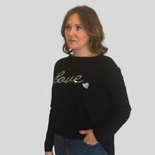 Load image into Gallery viewer, Sequin Love Jumper
