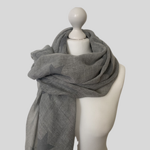 Load image into Gallery viewer, Cosmic Scarf - Grey