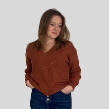 Load image into Gallery viewer, V-Neck Wrap Jumper