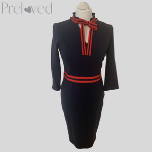 Boden Navy Fitted Dress