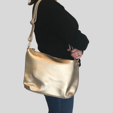 Load image into Gallery viewer, Silver Reversible Tote Bag