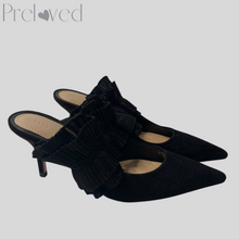 Load image into Gallery viewer, Zara Ruffle Mules