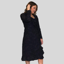 Load image into Gallery viewer, Galaxy Wrap Dress