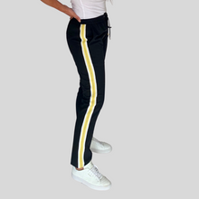 Load image into Gallery viewer, Black Side Stripe Trousers
