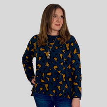 Load image into Gallery viewer, Animal Print Oversized Jumper