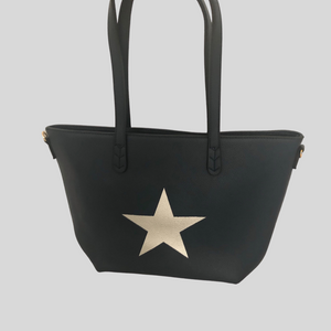 Star Tote Bag - Grey