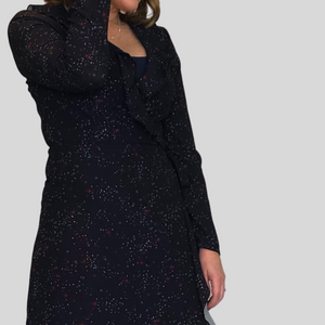 Galaxy Wrap Dress