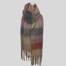 Load image into Gallery viewer, Layla Super Soft Check Scarf - Pink