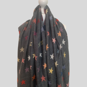 Astrid Small Stars Reversible Scarf