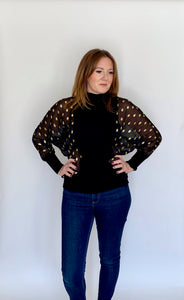 Foil Print Jumper (Various colours)