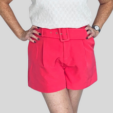 Load image into Gallery viewer, Black Belted Shorts