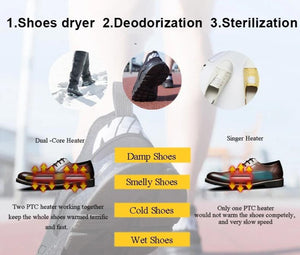 Portable Shoe Dryer - Carteese