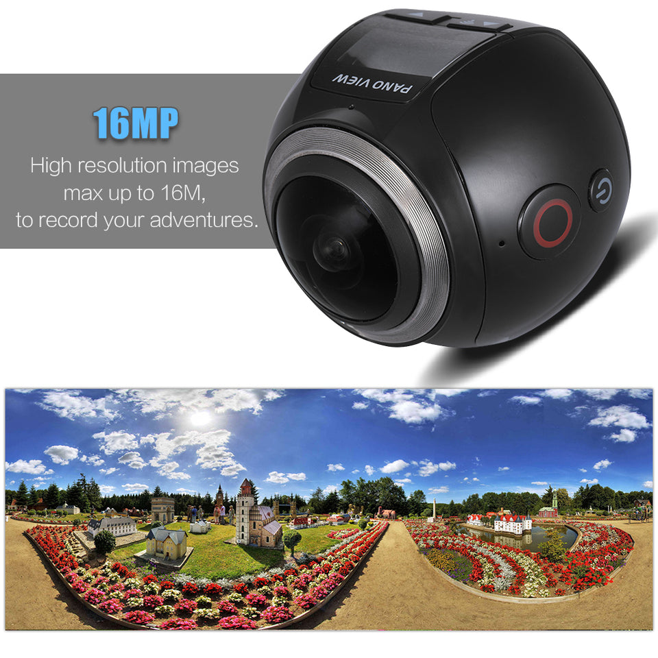 Waterproof Panoramic 360 Camera - Carteese