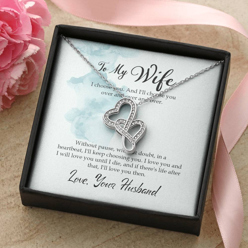 To My Wife - I Choose you - Necklace - Carteese