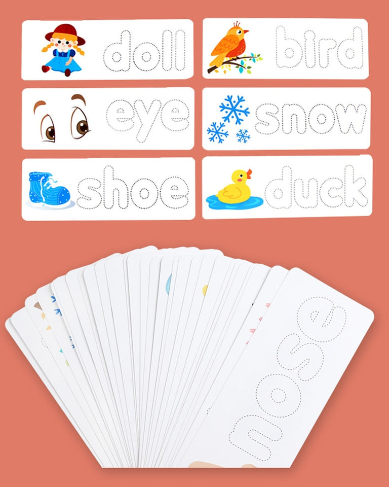 Letter Recognition Spelling Game - Carteese