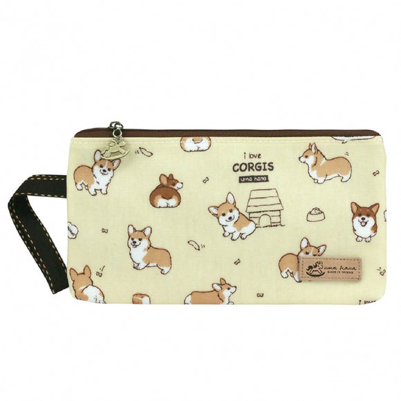 Good Storage Bag | Mask Pouch | UMA231 | Baby Corgi Yellow