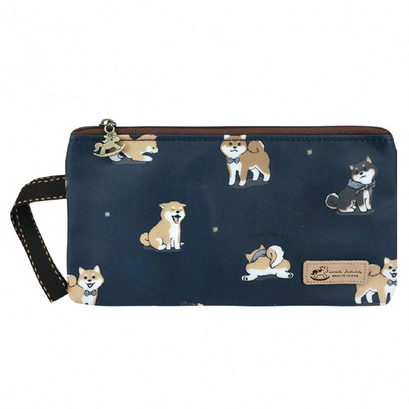 Good Storage Bag | Mask Pouch | UMA231 | Baby Shiba Dark Blue