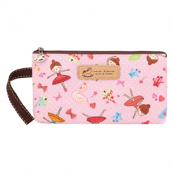 *NEW ARRIVAL* Uma hana Waterproof Nika storage Mask Pouch | 尼卡收納袋 | UMA184 | Ballerina Pink