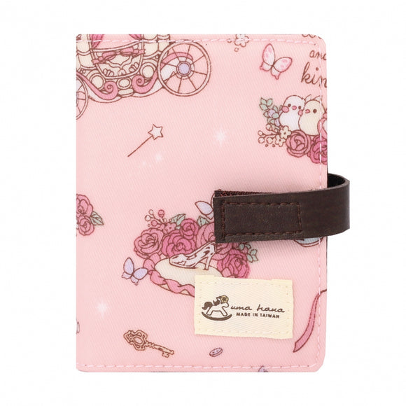 Transparent Card Holder | UMA015 | Beautiful Carriage Pink