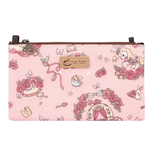 *NEW* Waterproof 3 Layers Mobile Sling Bag 5.8 inch | UMA219 | Beautiful Carriage Pink