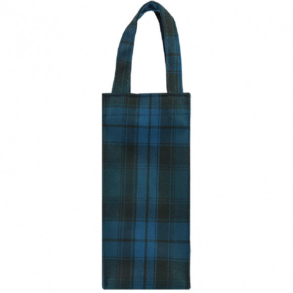 Square Water bottle Bag (S) | 1Litre | UMA027CH | Checkered Blue