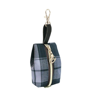 Jelly Coin Pouch | UMA225 | Checkered Black
