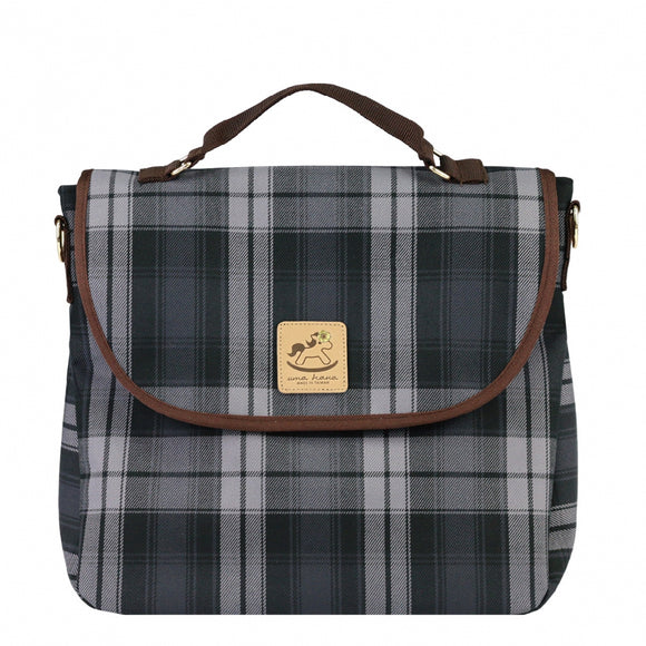 Checkered 3 Ways Bag | UMA044CH | Checkered Black