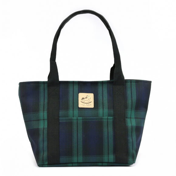 Classic Large Dumpling Shoulder Bag | UMA039 | Checkered Green
