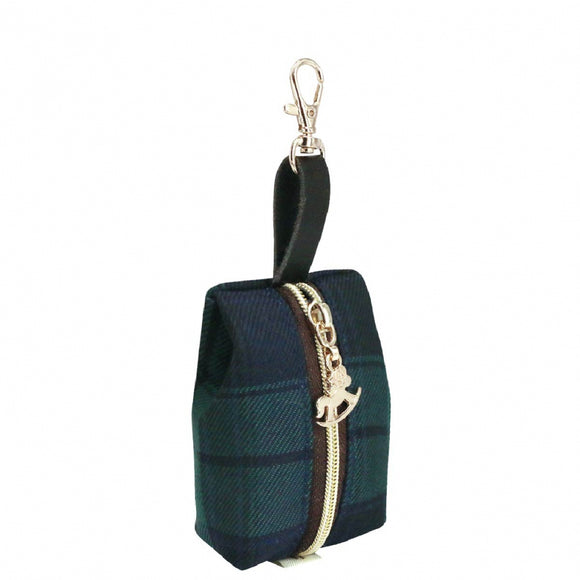 Jelly Coin Pouch | UMA225 | Checkered Green