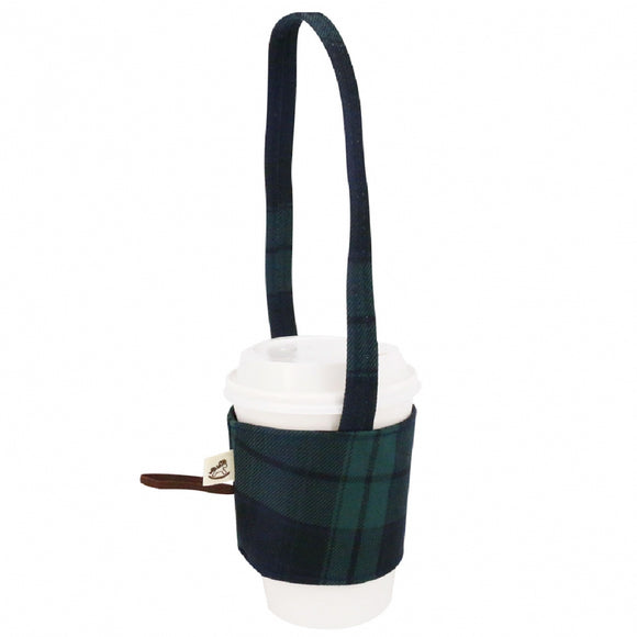 Drink Cup Holder | UMA187CH | Checkered Green
