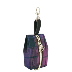 Jelly Coin Pouch | UMA225 | Checkered Purple