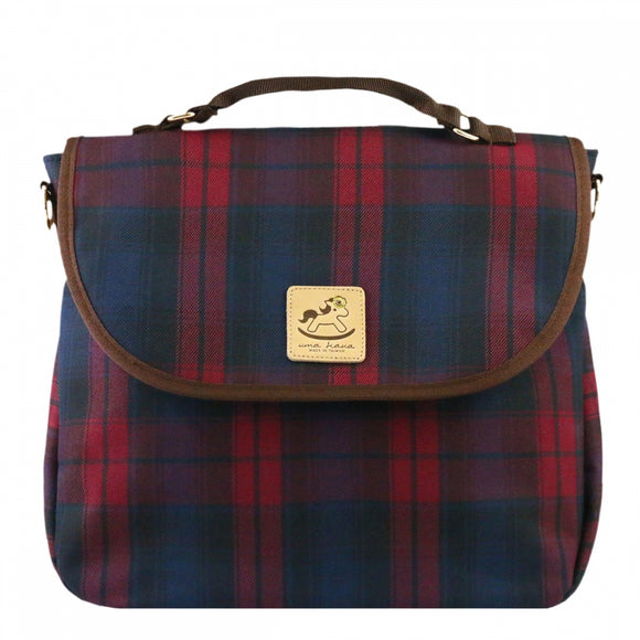 Checkered 3 Ways Bag | UMA044CH | Checkered Red