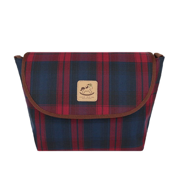 Uma hana Waterproof Checkered Messenger Crossbody Bag | 中側背包 | UMA045CH | Checkered Red