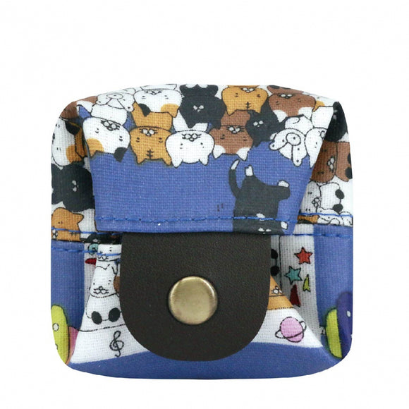 Box Coin Pouch | UMA232 | Claw Catcher Blue