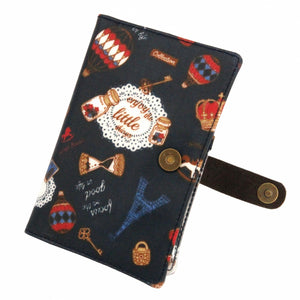 Waterproof Button Passport Cover | UMA096 | Alice Black