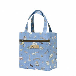 New Tote Bag | UMA230 | Bow Cat Grey