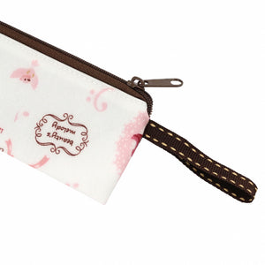 Checkered Long Chopstick Pouch | UMA216CH | Checkered Black
