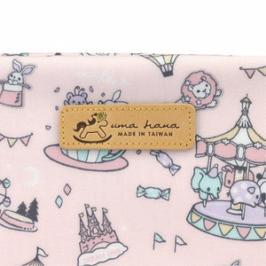 Rectangle Cosmetic Pouch | UMA019 | Ballet Waltz Black