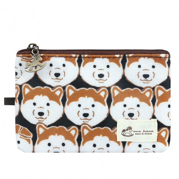 Waterproof Button Passport Cover | UMA096 | Doggy Black