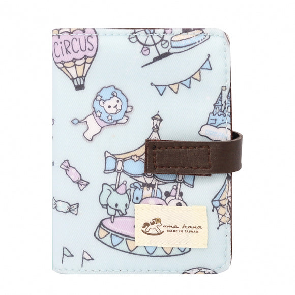 Transparent Card Holder | UMA015 | Dream Park Light Blue