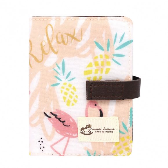 Transparent Card Holder | UMA015 | Flamingo Beige