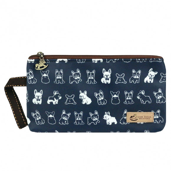 Good Storage Bag | Mask Pouch | UMA231 | French Bulldog Blue
