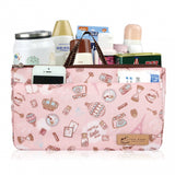 Uma hana Waterproof Bag in Bag Organiser | UMA088 | Bubble Rabbit Pink