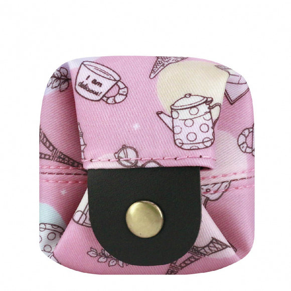 Box Coin Pouch | UMA232 | Little Small Things Pink
