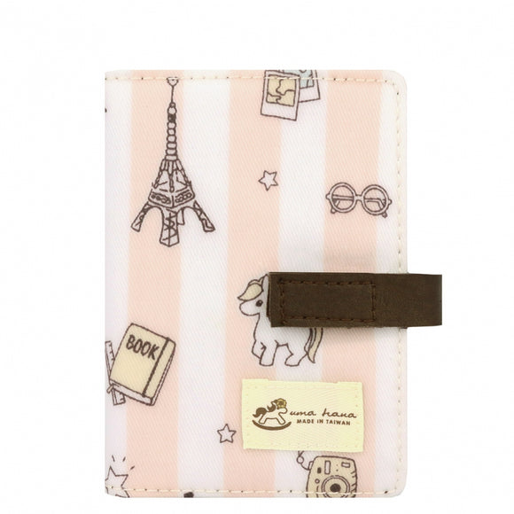Transparent Card Holder | UMA015 | Magic Square Pink