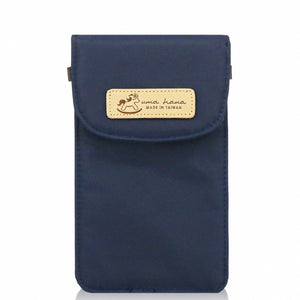 Premium Monochrome Waterproof Rectangle Cosmetic Pouch | UMA167SC Navy