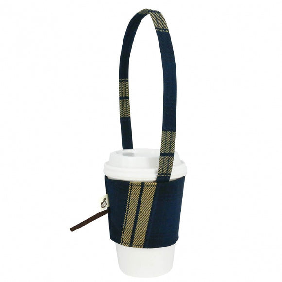 Drink Cup Holder | UMA187CH | Checkered Navy