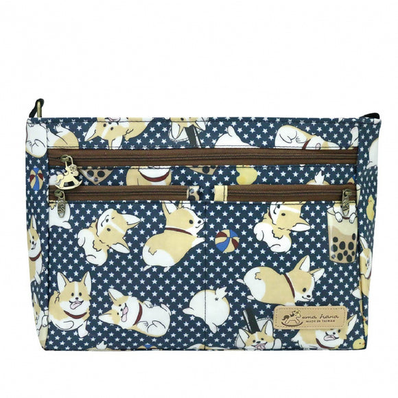 5 Zipper Crossbody Bag | UMA087 | *NEW* Corgi BBT Dark Blue